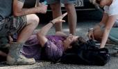 Derya Alabora sette kaza geçirdi