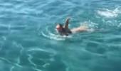 Hülya Avşar'ın deniz keyfi