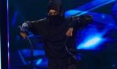 Ninja Zoloy'un karate dans gösterisi