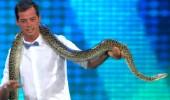 Alp Kırşan'ın yılanla imtihanı!