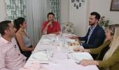 Yemekteyiz yarışmacıları masada iddialaştı...