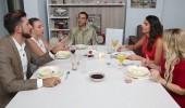 Yemekteyiz masasında sert tartışma