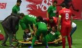 Efsaneler Kupası'nda talihsiz sakatlık! Sahayı sedyeyle terk etmek zorunda kaldı...