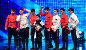 İnegöl Ahıskalılar Derneği Folklör Ekibi dans gösterisi