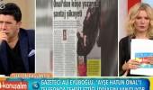 Ali Eyüboğlu: Ayşe Hatun Önal'ı hayatımda aramadım