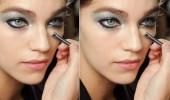 Gümüş makyaj nasıl yapılmalı?