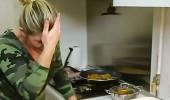 Mutfakta talihsiz kaza
