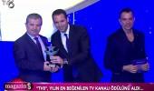 TV8'e 'Yılın En Beğenilen TV Kanalı' ödülü!