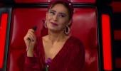 O Ses Türkiye stüdyosunda Yıldız Tilbe'ye sevgi seli