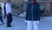 Esra Erol'un kayak keyfi