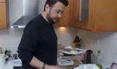 Onur Büyüktopçu mutfağa girince şoke oldu!