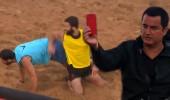 Turabi çift sarıdan kırmızı kart gördü, oyun dışı kaldı!