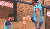 Anıl ile Ramazan'dan futbolcu tarzı sevinç gösterisi