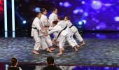 Elmas Kızlar Karate Takımı'nın yarı final performansı
