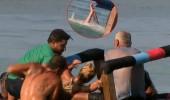Survivor'da korku dolu anlar! Funda sudan çıkamadı...