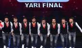 Van Gevaş Halk Oyunları Ekibi yarı final performansı