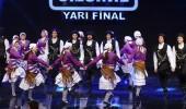 Akhok Halk Oyunları'nın yarı final performansı
