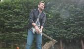 Onur Büyüktopçu'nun odunla imtihanı!