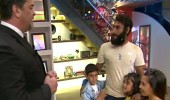 Cumali çocuklarıyla canlı yayında buluştu
