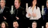 Ünlü sanatçılardan Afrin türküsü