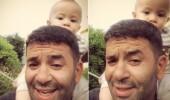 Bülent Şakrak'tan minik oğluna Neşet Ertaş türküsü