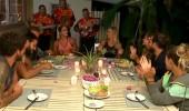 Gönüllüler takımı akşam yemeğinin tadını çıkardı!