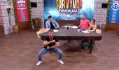 Mustafa Kemal'den Survivor Panorama'da Haka dansı!
