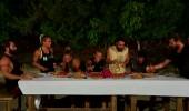 Yarışmacılar Kenan Doğulu'yu dinlemeden önce karınlarını doyurdular