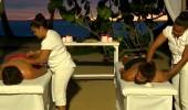 Anıl ile Hilmi Cem'in masaj keyfi!