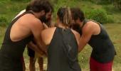 Hep birlikte parkurda son kez 'Survivor' çektiler!