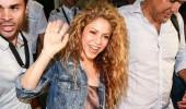 Shakira'ya havalimanında baklava ikramı