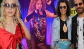 Ünlü isimler Shakira'nın konserine koştu!