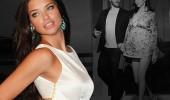 Adriana Lima, Metin Hara'yı elleriyle besliyor!
