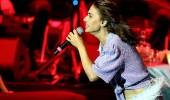 Ünlü isimler Yıldız Tilbe konserine akın etti