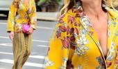 Dünyaca ünlü yıldız sokakta pijamayla dolaştı!