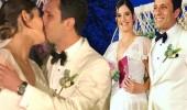 Ferhan Şensoy ve Cem Öğet evlendi! Masal gibi düğün