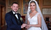 Nihat Kahveci ile Fulya Kahveci, Boğaz'da düğün yaptı!