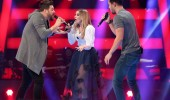 Stüdyoyu coşturan düet! Hadise ile Murat Boz sahnede...