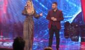Seda Sayan kendi şarkısını yarışmacıyla birlikte seslendirdi!