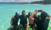 Yarışmacılar Acun Ilıcalı'nın sürat teknesiyle keyifli vakit geçirdi
