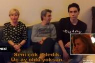 Gizem Kerimoğlu ailesinden gelen videoları izledi!