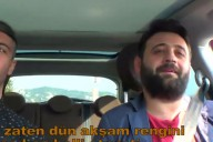 Erdi Göz6 aracıyla tura çıktı. Yolcusu Fatih'i eleştirdi.