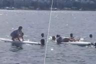 Furkan Kızılay'ın annesinin sörf tahtasıyla imtihanı!