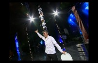 Samir Demirel'in Akrobatik Barmen Performansı