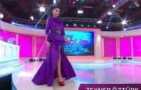 2. sezon final bölümünde Zeynep Öztürk'ün podyum yürüyüşü