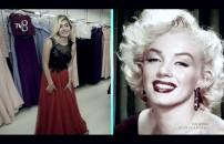 Kendini Marilyn Monroe'ya benzetti, rakipleri şok oldu