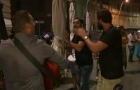 Zafer'den Napoli sokaklarında dans şov!