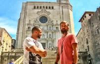 Yunus ve Mehmet Game Of Thrones'un çekildiği yerde...