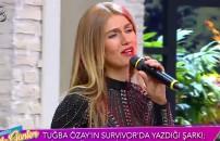 İşte Tuğba Özay'ın Survivor'da yazdığı o şarkı!