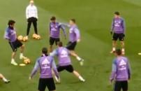 Ronaldo'ya olay hareket! Arkadaşını kovaladı